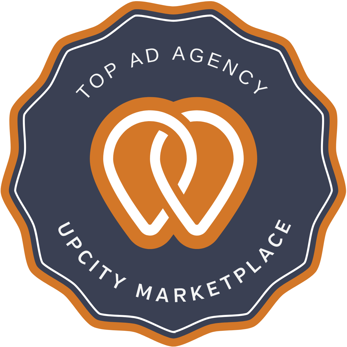 upcity badge-top ad agency