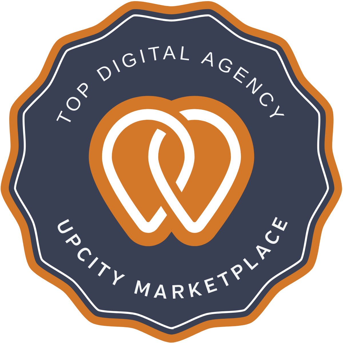 Upcity market place top digital agency logo