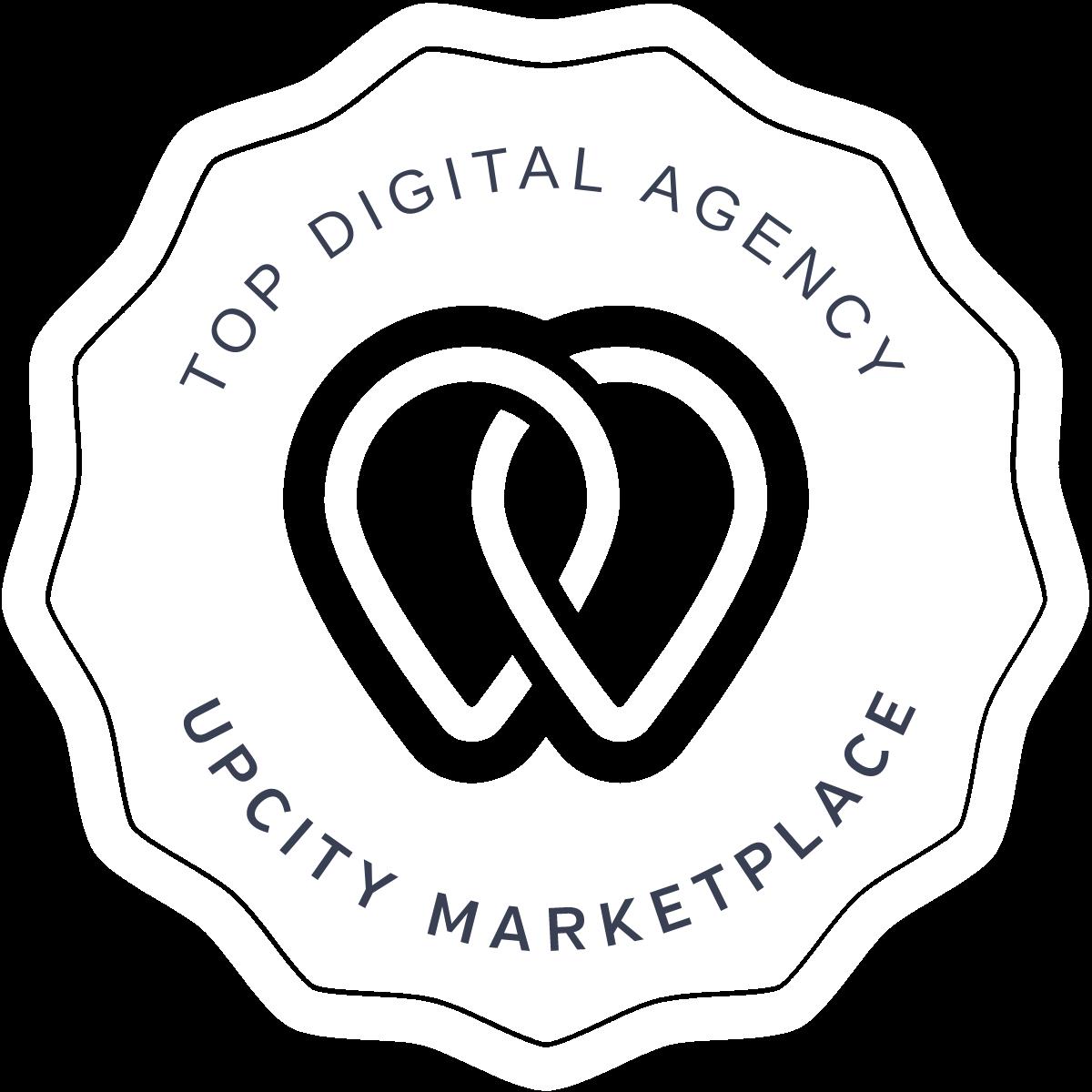 Top-Voted Digital Marketing Agency UpCity badge