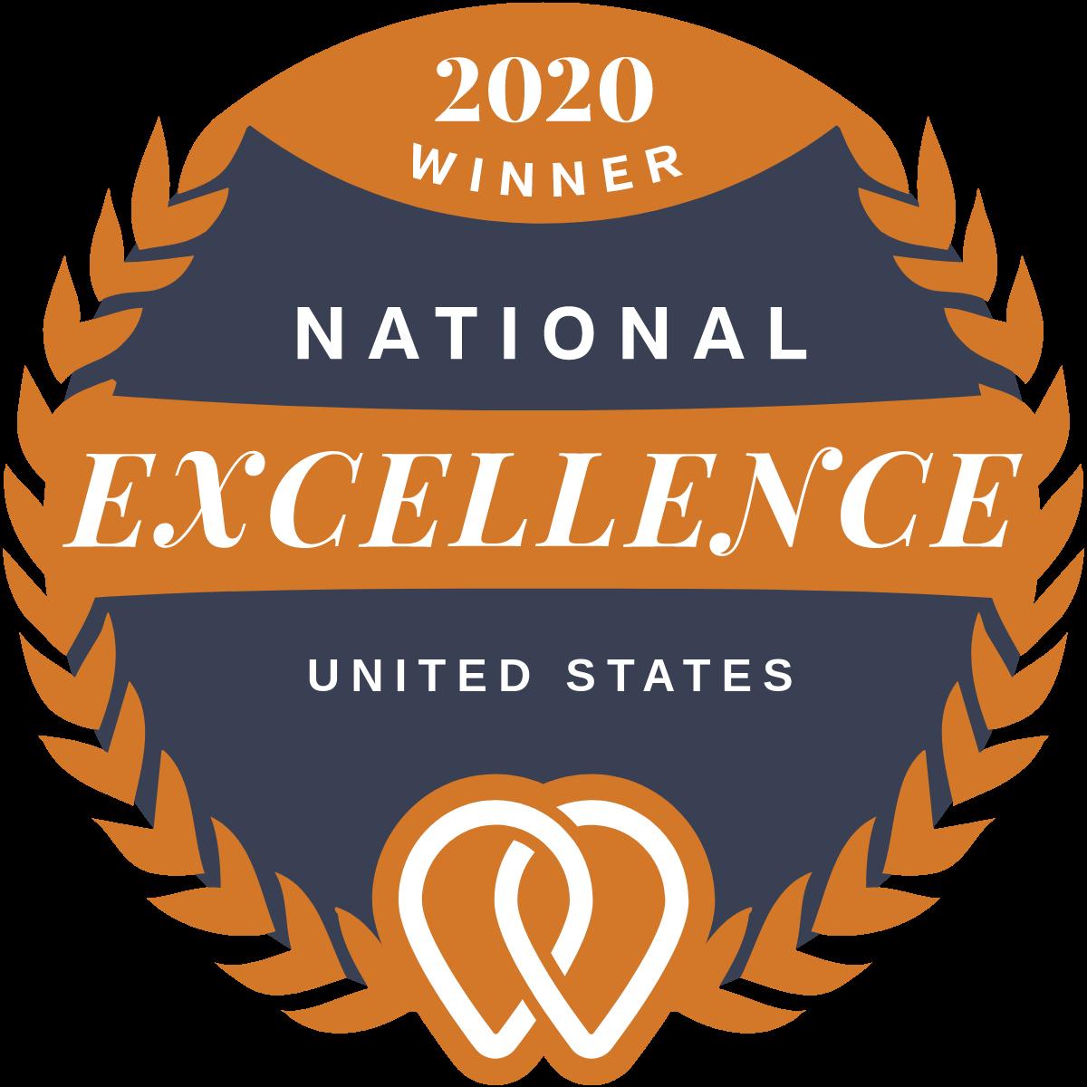 Excellence Award Winner 2020