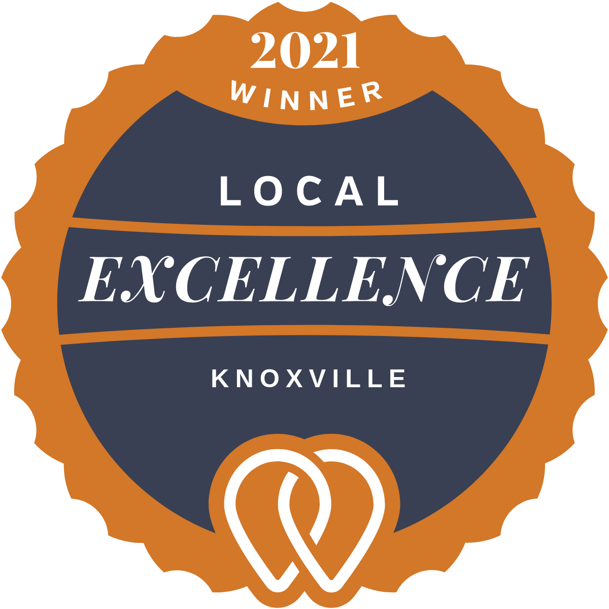 2021 Local Excellence Winner in Knoxville, TN