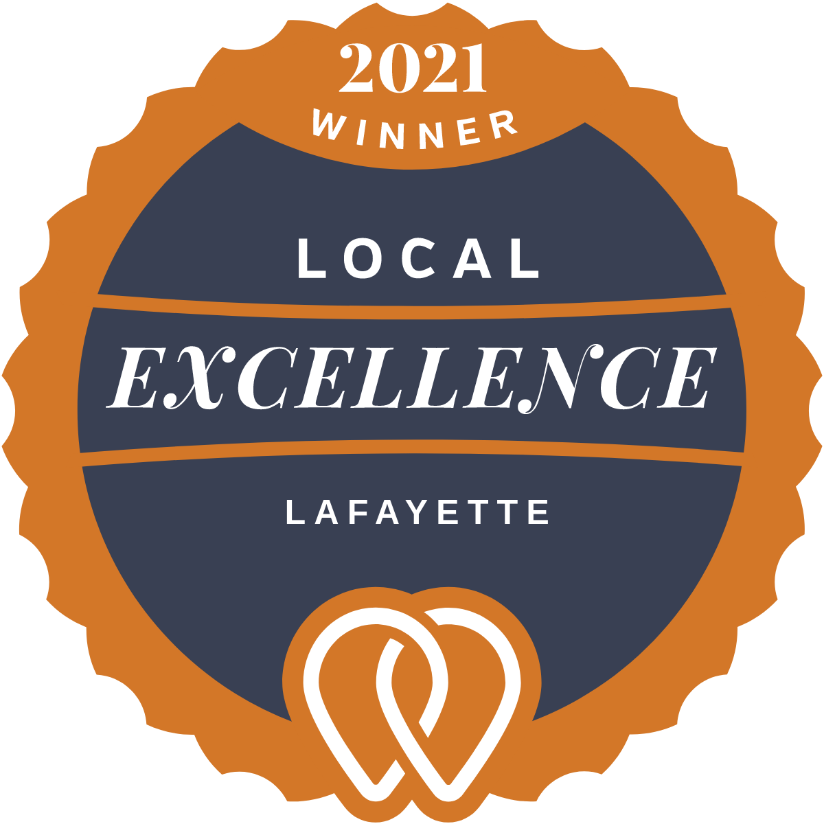 2021 Local Excellence Winner in Lafayette, LA
