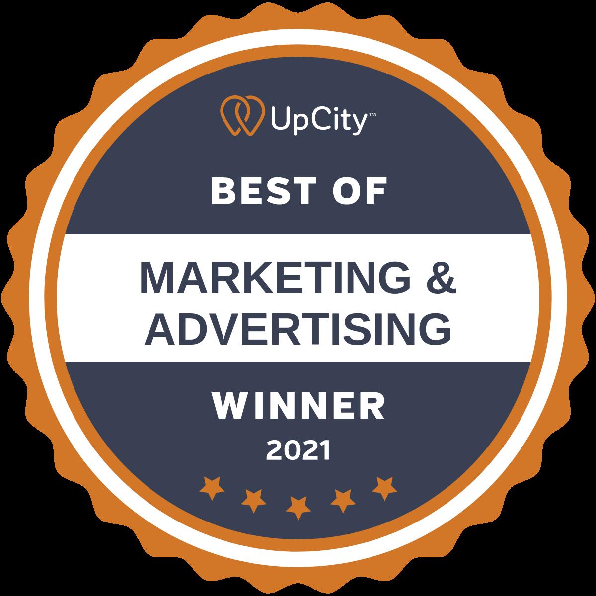 2021 Best of Marketing & Advertising
