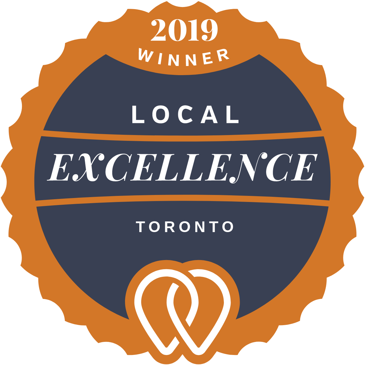 2019 Local Excellence Winner in Toronto, ON