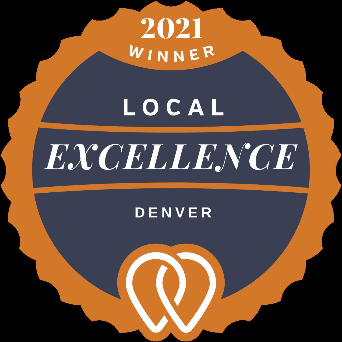 2021 Local Excellence Winner in Denver, CO