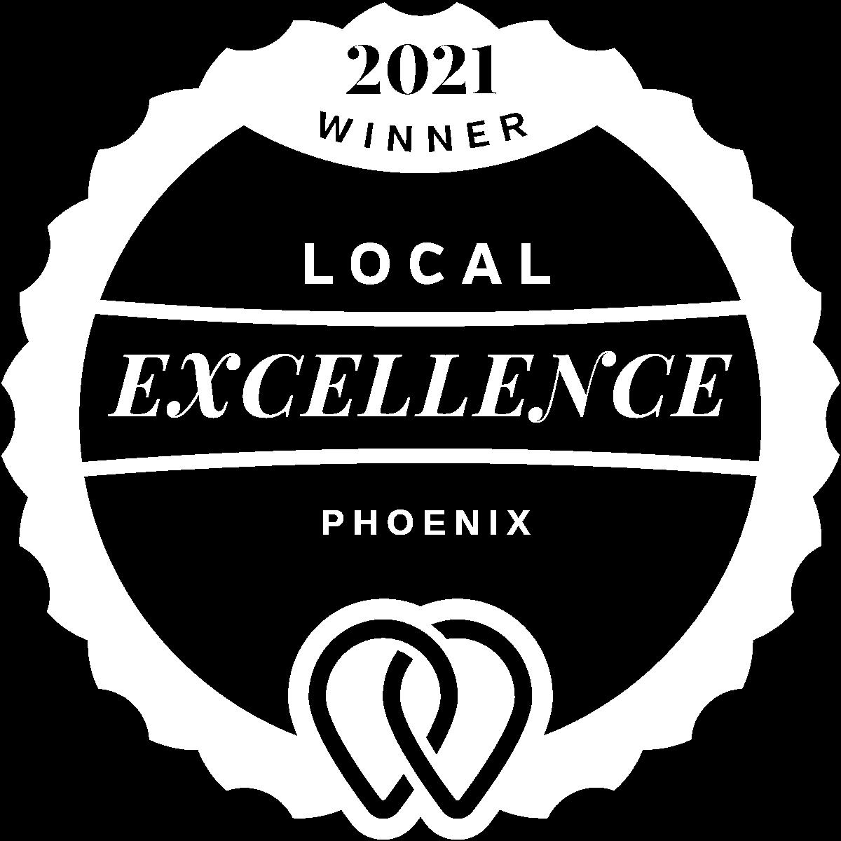 2021 Local Excellence Winner in Phoenix, AZ