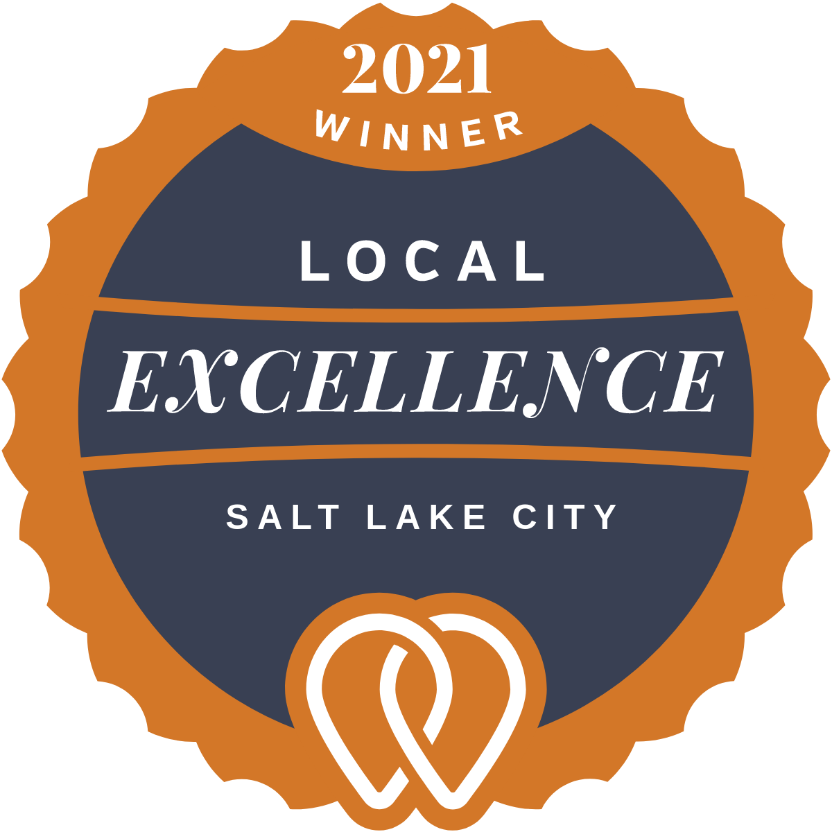 2021 UpCity Local Excellence SEO Company Winner in Salt Lake City, Utah