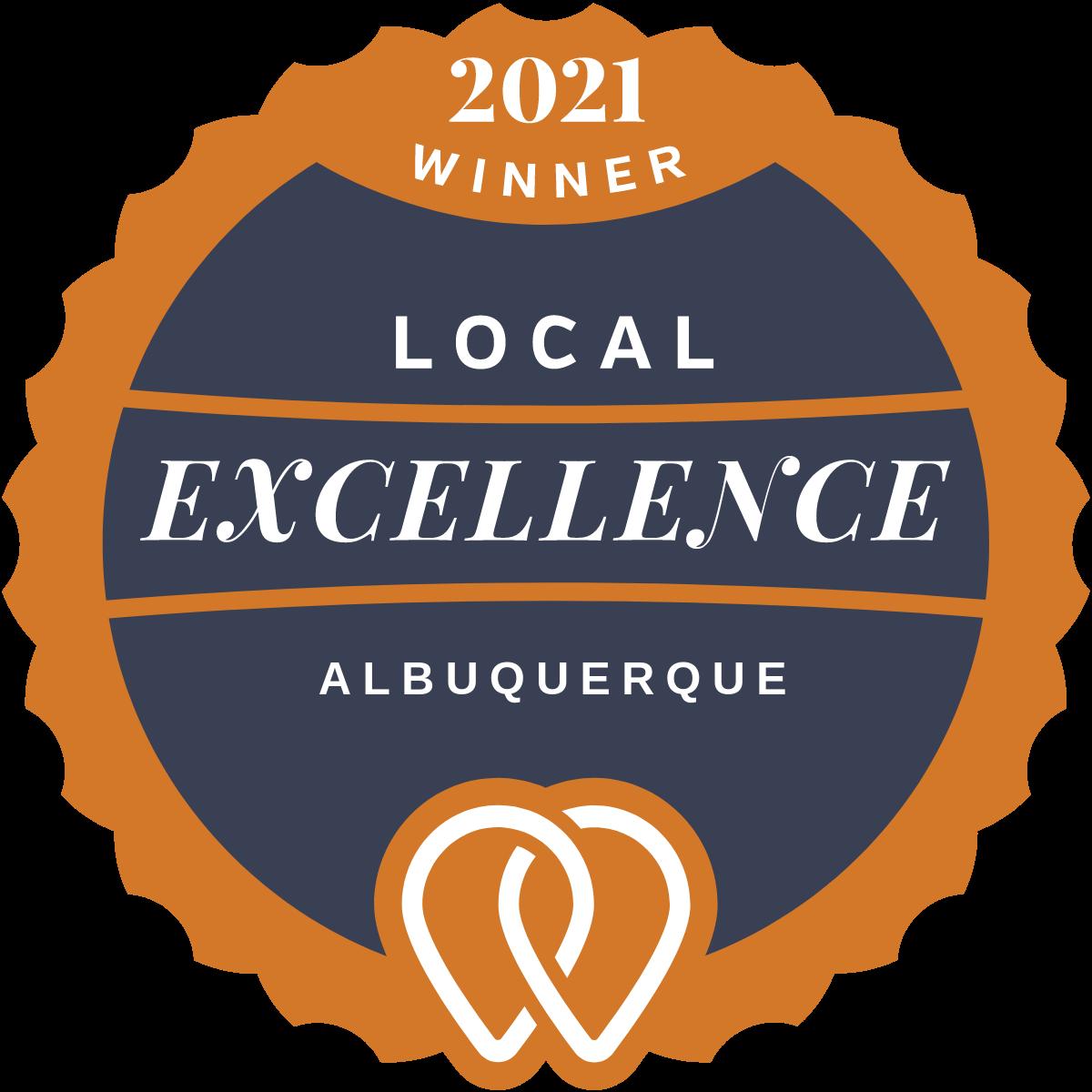 2021 Local Excellence Winner in Albuquerque, NM