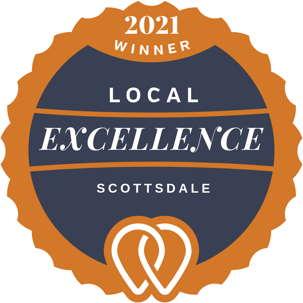 2021 Local Excellence Winner in Scottsdale, AZ
