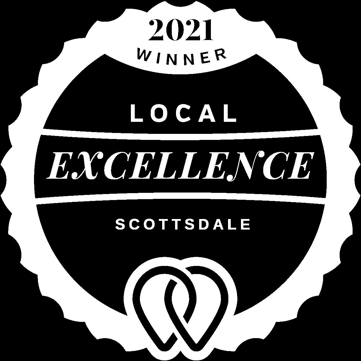 2021 Local Excellence Winner in Scottsdale, AZ